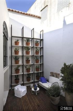 小户型露天阳台设计效果图大全2013图片