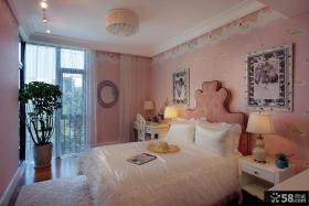 美式新古典风格时尚卧室设计效果图