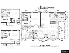 三层大别墅设计图纸