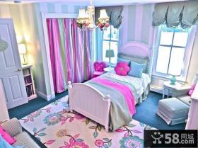 2013欧式女生卧室装修设计图