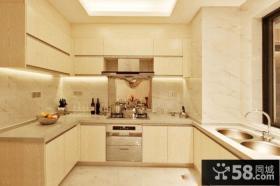 简欧风格厨房装修设计图片欣赏