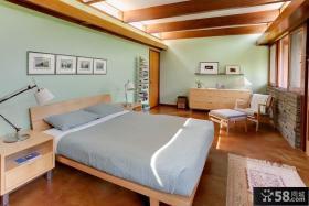 美式风格卧室样板房