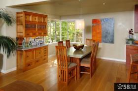 美式风格别墅客厅全貌装修图