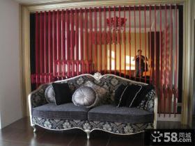 欧式风格三居室效果图大全