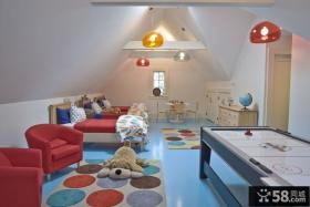 简约风格小户型阁楼装修效果图大全2012图片