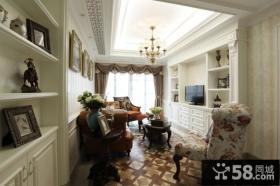 家装设计小客厅吊顶效果图