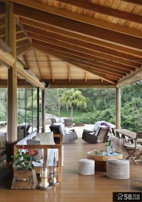 巴西水上之家别墅 客厅装修效果图大全2012图片
