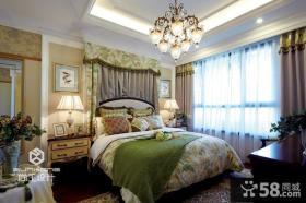 卧室欧式吊灯图片欣赏