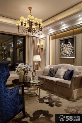美式风格客厅设计图片