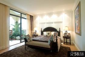 奢华的别墅卧室装修效果图大全2012图片