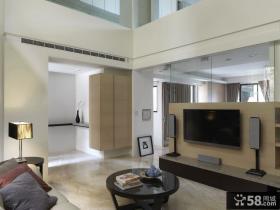简约复式空间利用设计二居室装修效果图