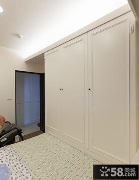 简约风格室内设计卧室衣柜图片欣赏