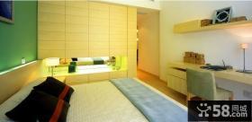 简约家庭卧室装修设计效果图