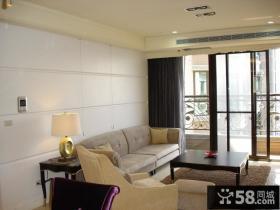 现代美式装饰小客厅