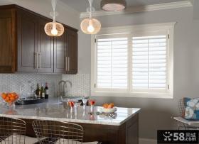 欧式现代风格小厨房装修效果图