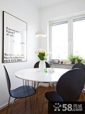 54平米紧凑型单身公寓客厅背景墙装修效果图大全2012图片