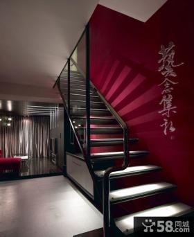 2015现代家装设计楼梯效果图大全