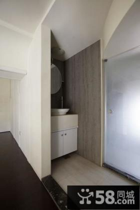 现代复式室内卫生间装修图片