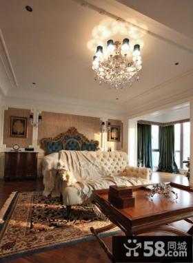 欧式新古典风格卧室装修效果图大全