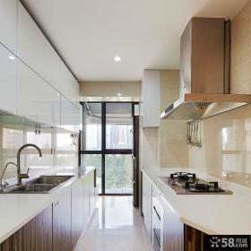 现代简约厨房装修设计展示