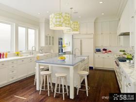 白色小清新别墅客厅装修效果图