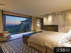 现代简约风格别墅卧室装修设计