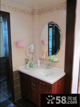 简约风格卫生间洗脸盆装修效果图欣赏大全