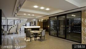 247平米新古典风格别墅装修效果图欣赏