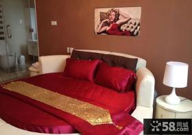 婚房欧式风格卧室装修图片