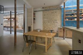 混搭工业风格餐厅设计