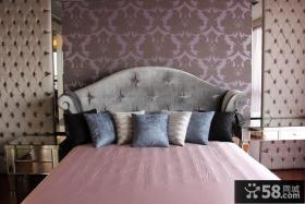 古典欧式风格卧室床头背景墙图