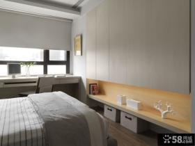 家居设计卧室书桌效果图