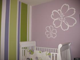 现代简约卧室墙画图片大全