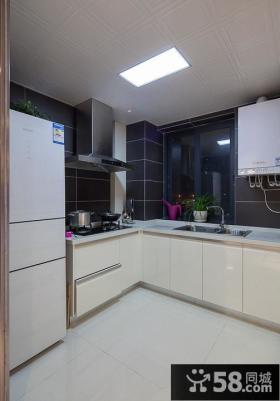 现代式家装厨房装修效果图