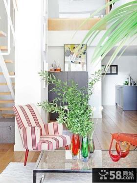 70平米小复式楼室内装潢图片