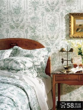 欧式卧室墙纸效果图大全