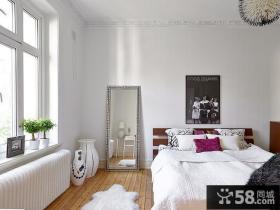 北欧风格小户型卧室效果图