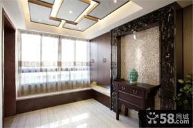 现代中式玄关设计