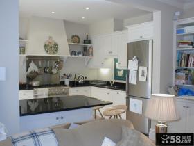 欧式风格开放式厨房装修效果图大全2013图片