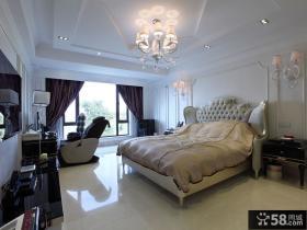 浪漫精致简欧风格卧室设计