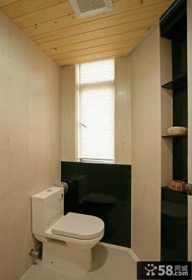 卫生间马桶装修效果图