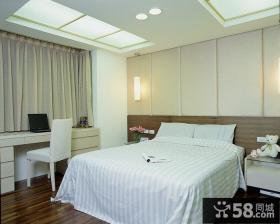 简约风格公寓室内卧室装修效果图片