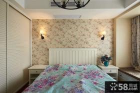 地中海简约风格卧室装修效果图