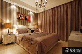 现代简约风格婚房卧室装修图
