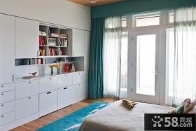 简欧式装修效果图 欧式卧室装修效果图