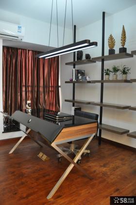 三室两厅现代风格书房装修效果图大全2014图片