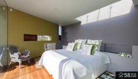 小复式现代风格卧室装修效果图