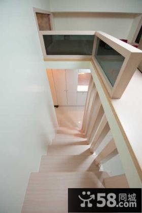 简约家装设计室内楼梯图欣赏大全