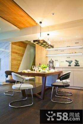 100平米现代创意公寓室内设计图片