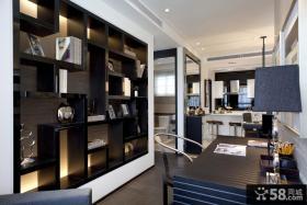 现代风格家装书房设计图片